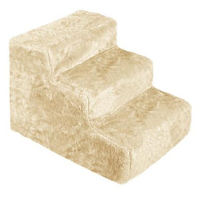 i.Pet 3 Step Plush Pet Steps - Beige